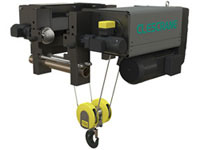 CH-P series hoist with double travel motors